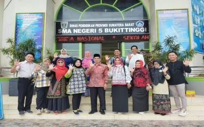 Kunjungan Kerja Dinas Pendidikan Prov Kalimantan Timur di Smalbi
